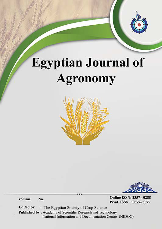 Egyptian Journal of Agronomy